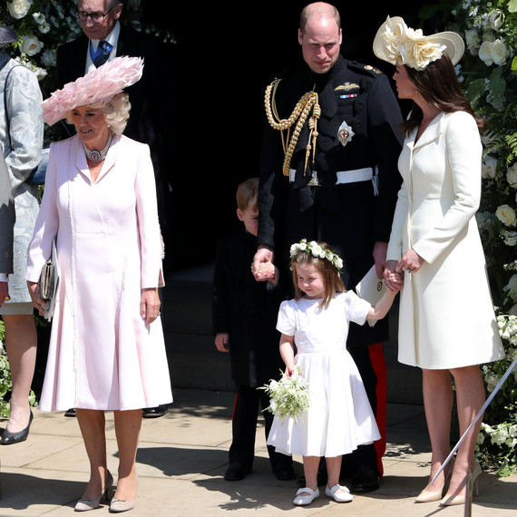 Royal Wedding 2018 Time.Here S Why Prince George Was So Shy At Prince Harry And Meghan