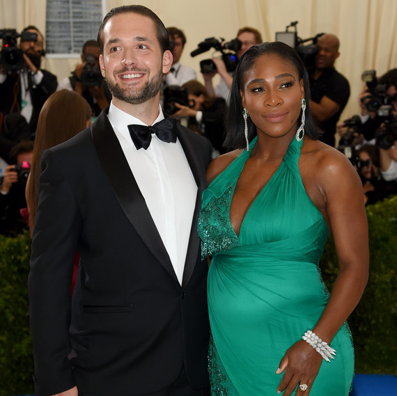 Serena Williams and Alexis Ohanian Met Gala 2017