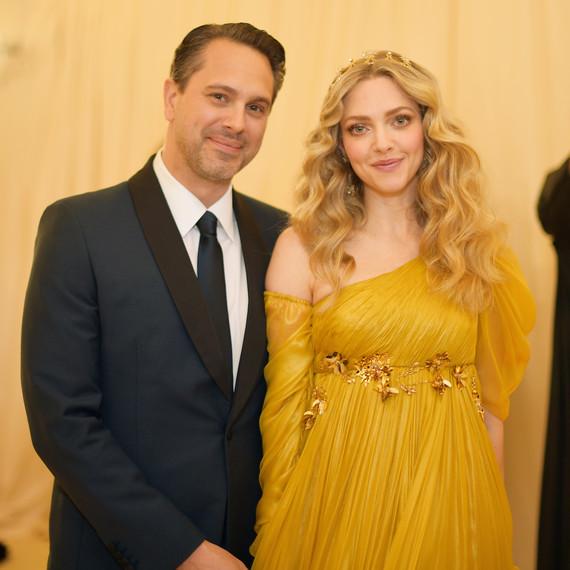Thomas Sadoski and Amanda Seyfried 2018 Met Gala