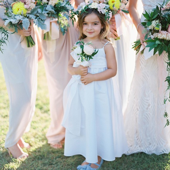 Flower Girl Dresses For Garden Weddings: 6 Cute Ways To Ask Your Flower Girl To Be Part Of The