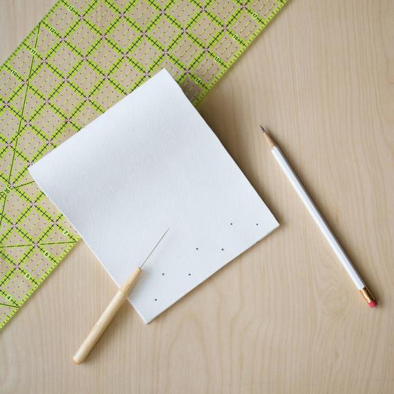 david stark design bookbinding vase step four