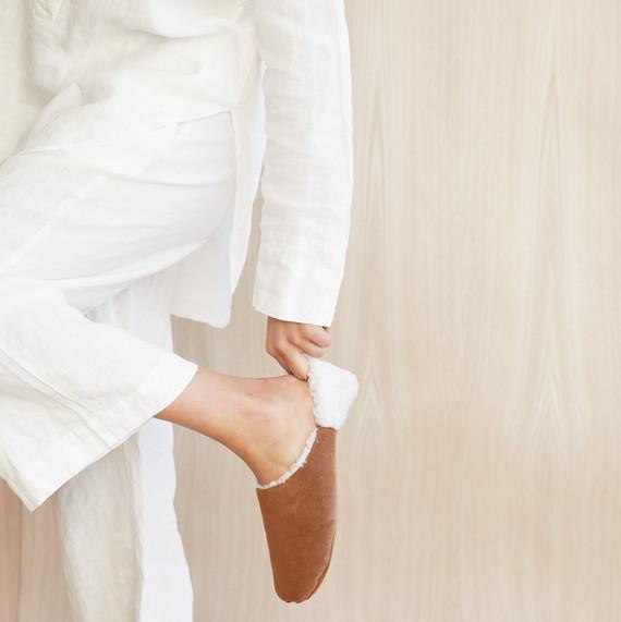 jenni kayne robe and slippers