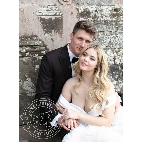 Sasha Pieterse and Hudson Sheaffer Married