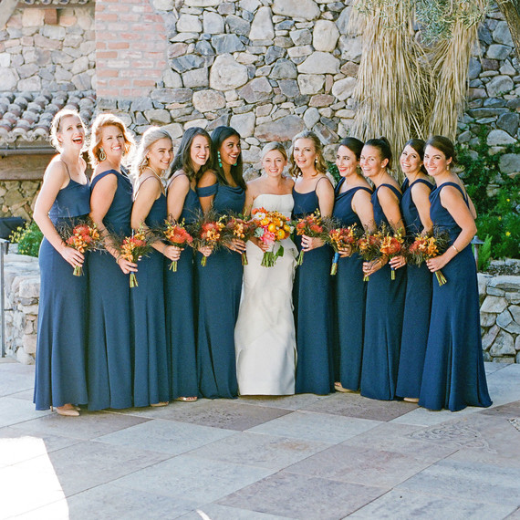 Ad Alex Wedding Bridesmaids Navy