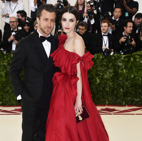 Bee Shaffer and Francesco Carrozzini Met Gala 2018