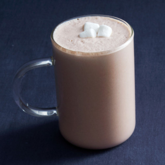 creamy boozy hot chocolate tequila marshmallows winter cocktail