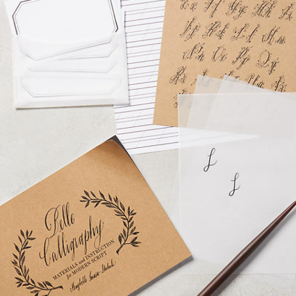 Darcy's Diary Last Minute Gifts, Calligraphy Kit