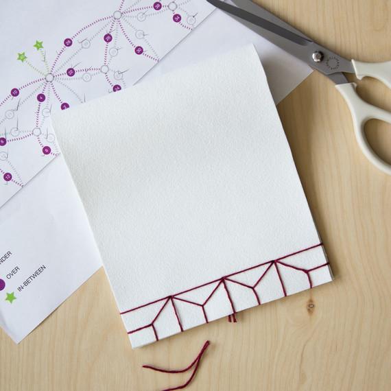 david stark design bookbinding vase step seven