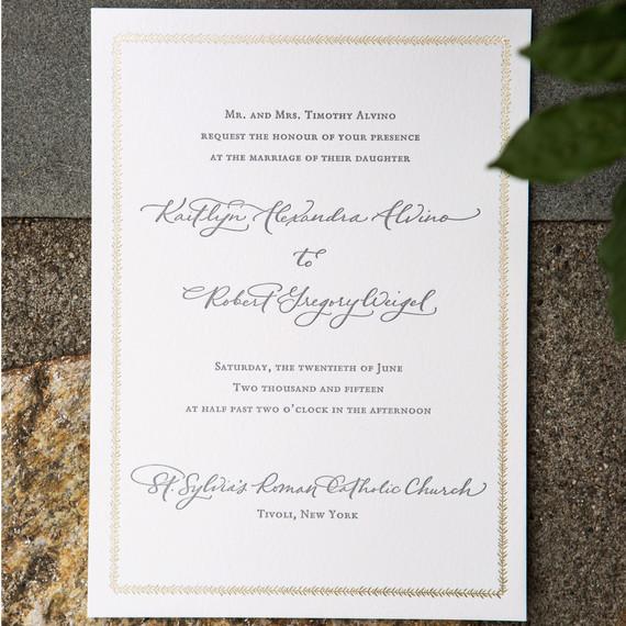 Addressing Common Wedding Invitation Wording Conundrums Martha