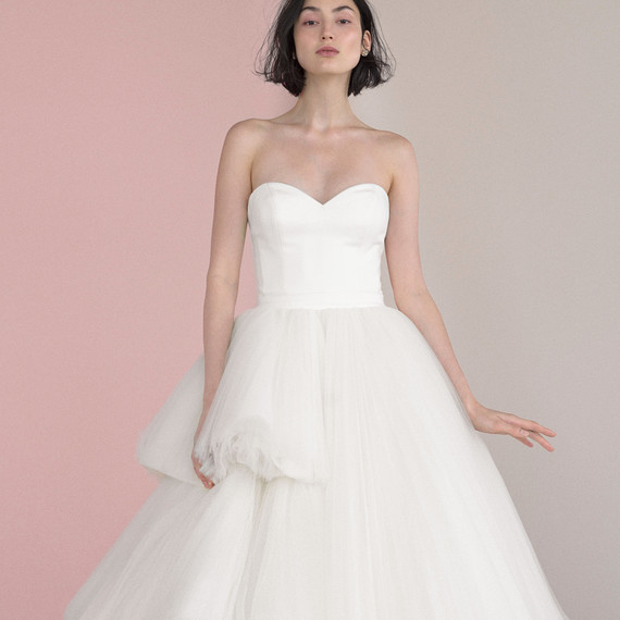 viktor rolf mariage sweetheart tulle gown
