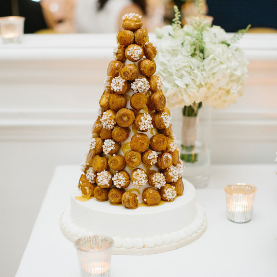 wedding croquembouche tower