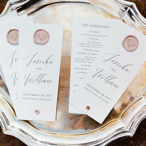 Wedding Ceremony Programs.10 Things You Never Thought To Include In Your Ceremony