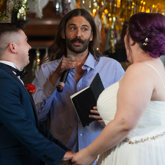 jonathan van ness wedding officiant