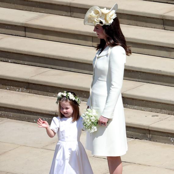Kate Middleton Rewore An Old Dress To The Royal Wedding