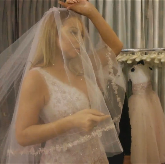 Mariah Carey Wedding Dress Shopping on Mariah's World