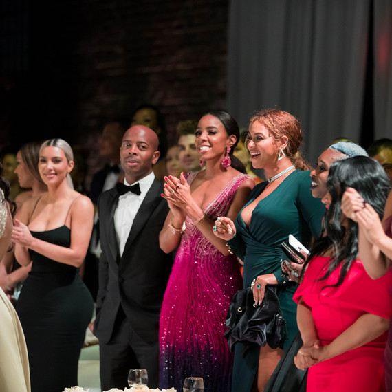 Serena Williams Wedding Guests Beyonce Kim Kardashian