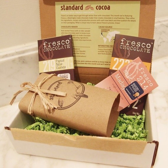 Bridal Shower Gift Ideas, Standard Cocoa Monthly Delivery