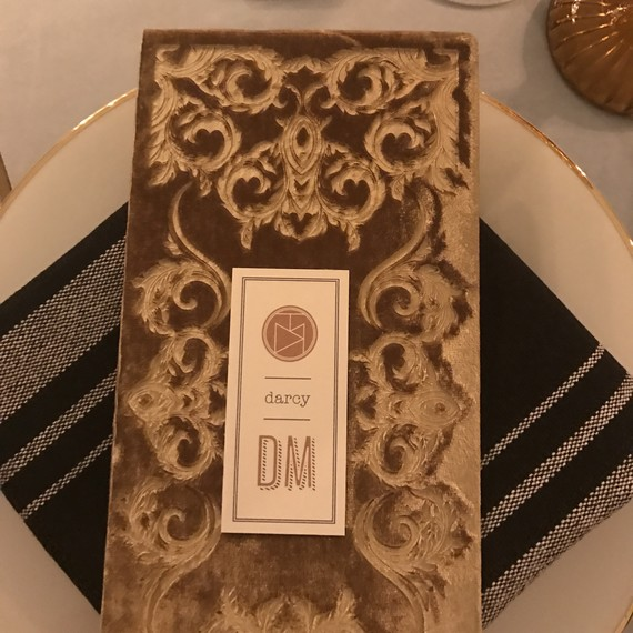 velvet dinner party menus