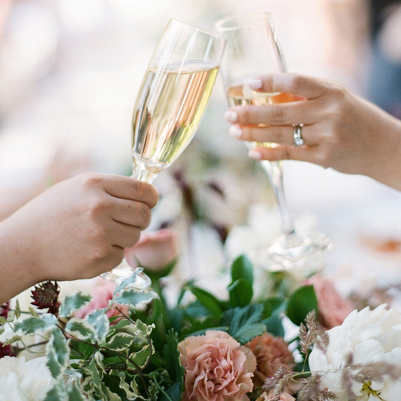 The Best Types Of Alcohol For A Bride To Drink On Her Wedding Day