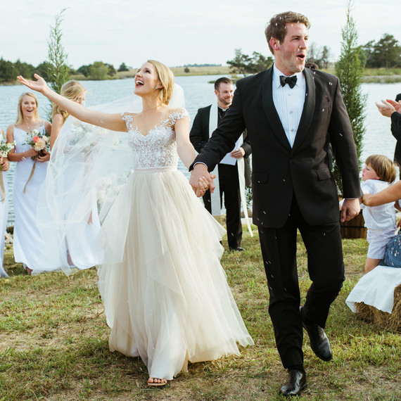 jessika william wedding rice toss