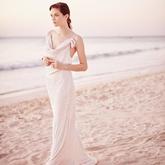 b114f9a37b Unexpected Dresses That Are Perfect for Your Beach Wedding | Martha ...