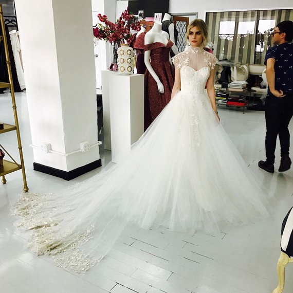 See Exclusive Photos of Actress Carlson Young\'s Christian Siriano ...