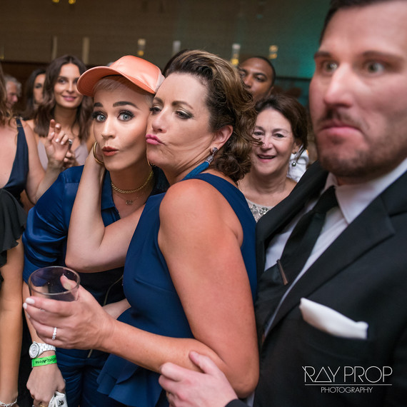 Katy Perry crashing wedding
