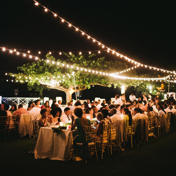 How To Illuminate Your Outdoor Wedding