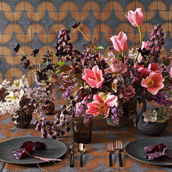 lewis miller design dramatic floral arrangement
