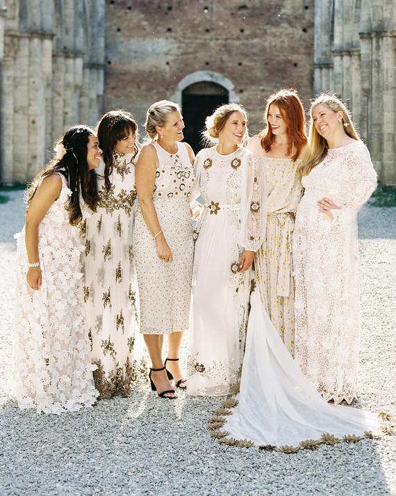 Our Favorite Mismatched Bridesmaids' Dress Looks