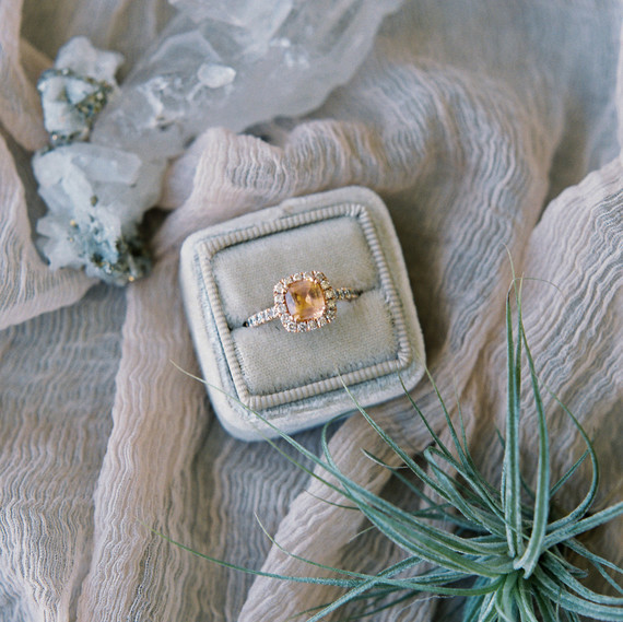 Christine's engagement ring