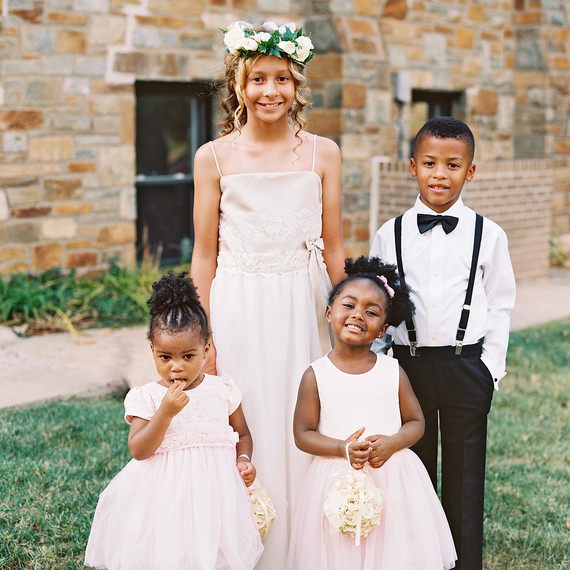 lindsey william wedding dc flower girls ring bearer