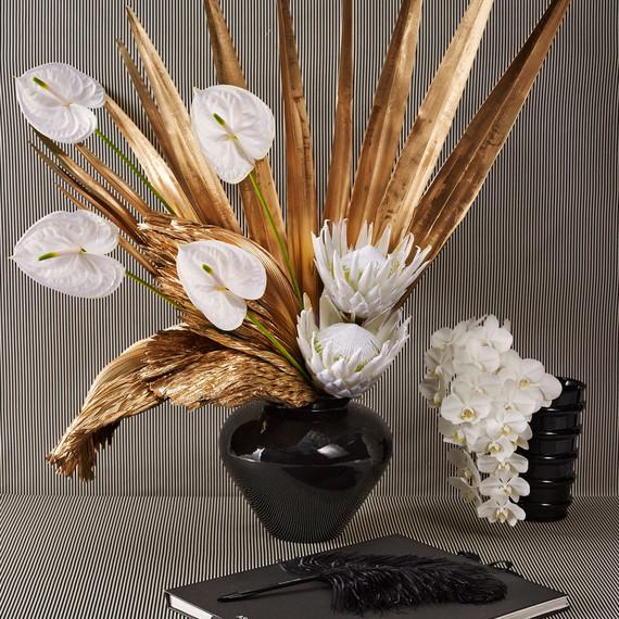 marisa competello metaflora retro floral arrangement