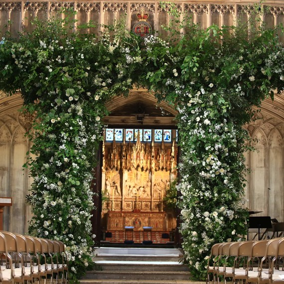 Royal Wedding Ceremony Space Flowers