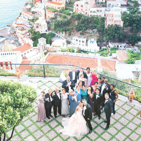 The ultimate destination wedding checklist martha stewart weddings destination wedding positano junglespirit Image collections