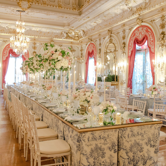 washington dc wedding ballroom table