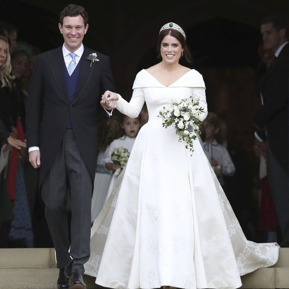 You Can Finally See Princess Eugenie's Wedding Dress IRL