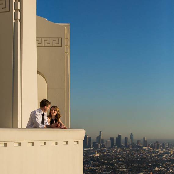 La La Land Engagement Photoshoot