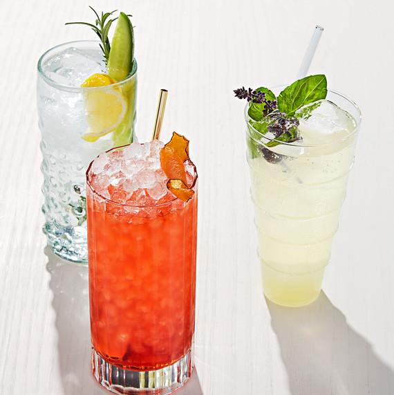 highball cocktails gin tonic negroni yuzu breeze