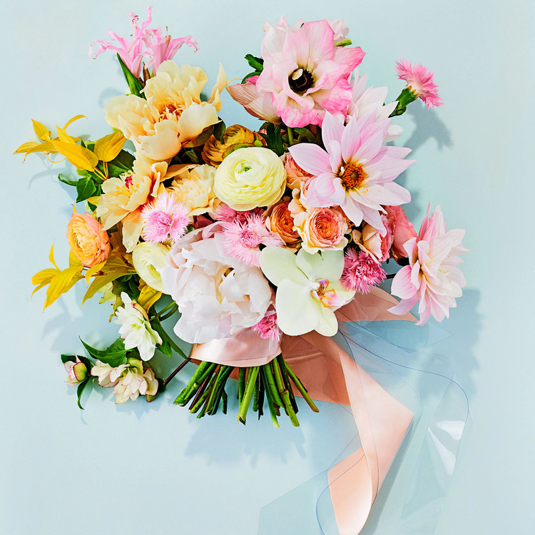 bright hues bouquet