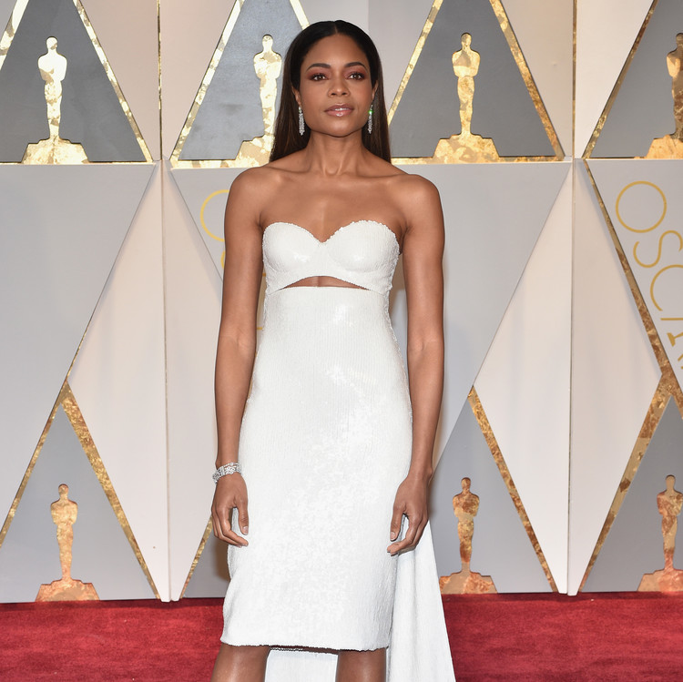 Naomie Harris 2017 Oscars Red Carpet