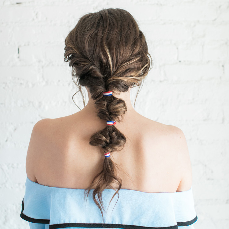 Face Time Beauty Twisted Ponytail