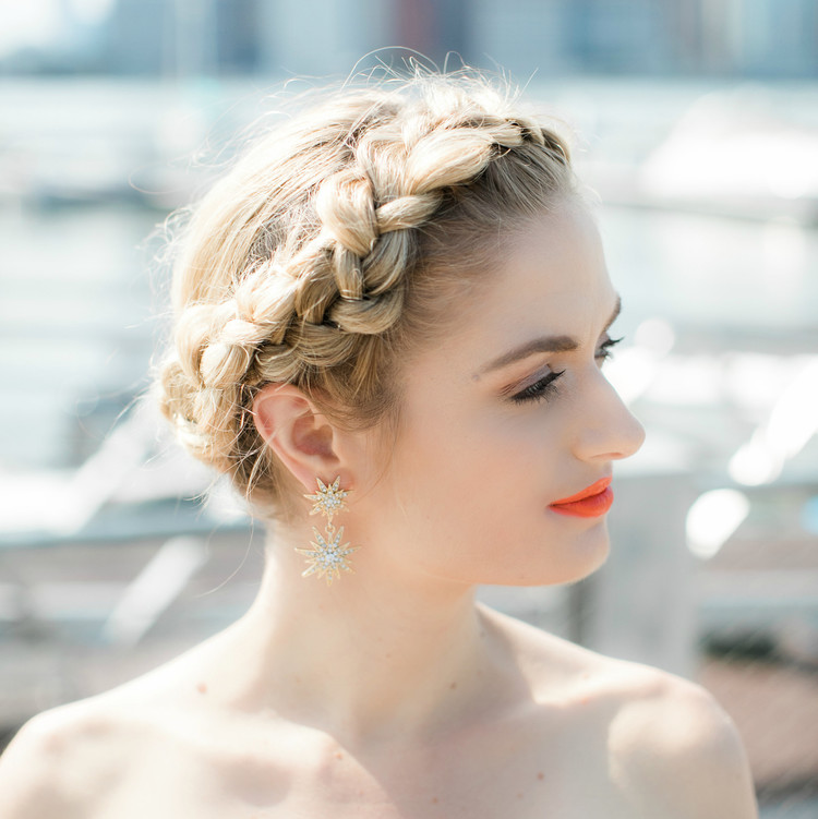 Face Time Beauty Braided Updo