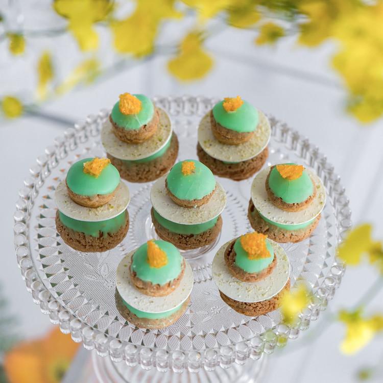 Chris Hessney Spring Shoot Pistachio Dessert