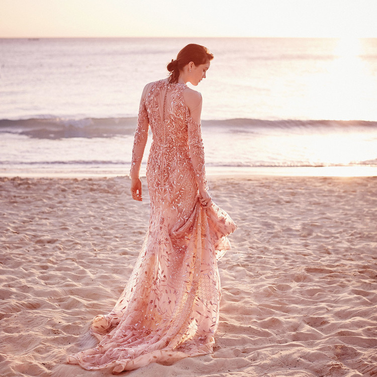 rivini rita vinieris obsessed gown long sleeve