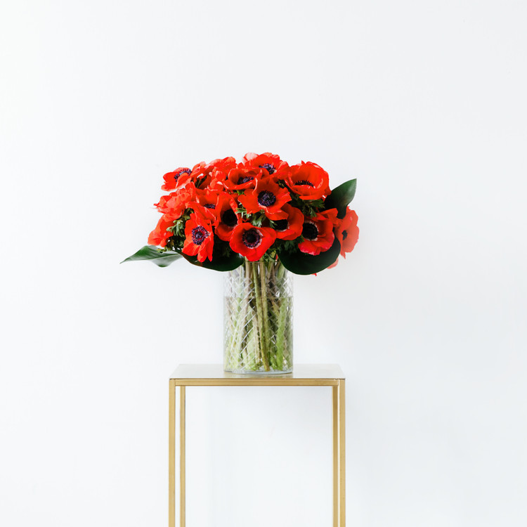 Red Floral Arrangement
